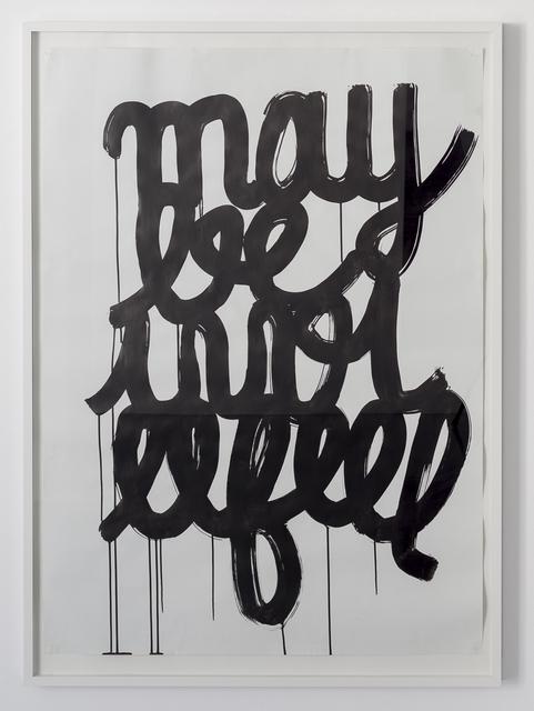 , 'maybe i will feel,' 2005, Galerie Reinhard Hauff