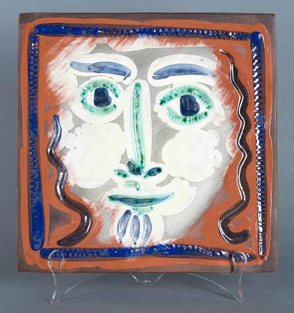 , 'Visage aux cheveux bouclés (Curly Haired Face),' 1968-1969, Masterworks Fine Art