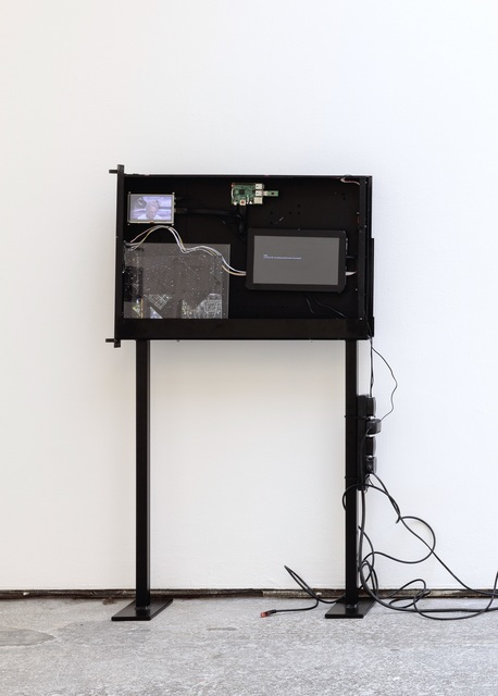 , 'Black Box (Server Sleep),' 2015, Barbara Seiler