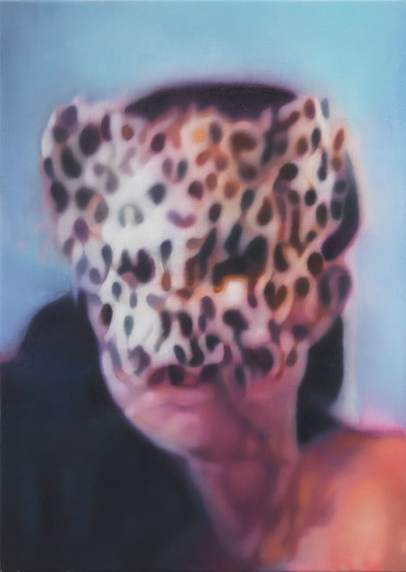 , 'Girl with mask,' 2014, Luhring Augustine
