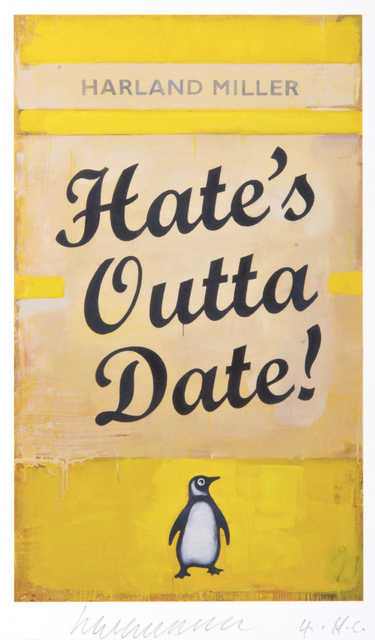 Harland Miller, 'Hate', 2017, Tate Ward Auctions