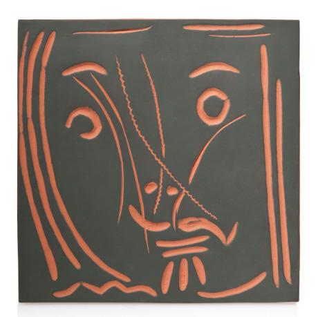 Pablo Picasso, 'Visage de femme 'Pomone' (A.R. 591)', 1969, Hirth Fine Art