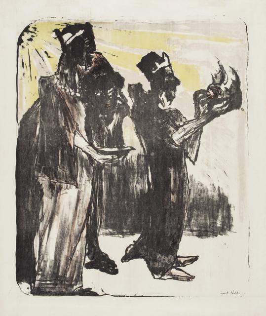 , 'Three Kings,' 1913, Galerie St. Etienne