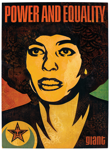 , 'Angela Power and Equality,' 2018, Over the Influence