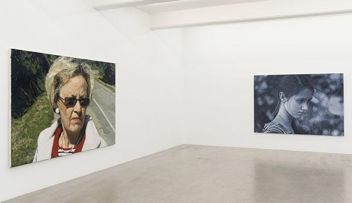 Ramazan Bayrakoğlu, installation view Galleri Andersson/Sandström Stockholm 2016