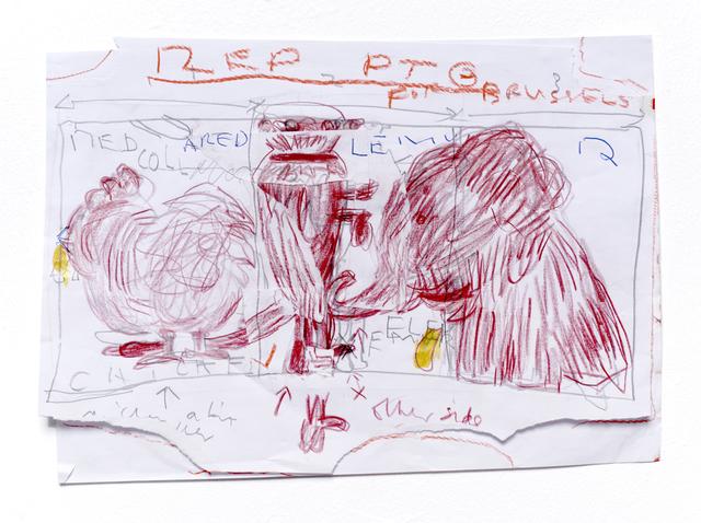 , 'Red PTG,' 2016, CHOI&LAGER