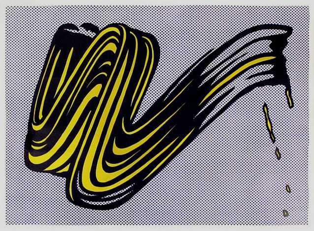 Roy Lichtenstein, 'Brushstroke', 1965, Susan Sheehan Gallery