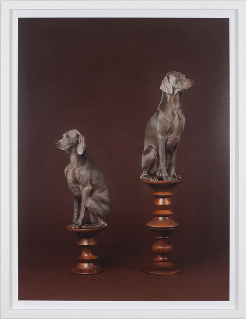 William Wegman, 'Pawns', 2015, Independent Curators International (ICI) Benefit Auction