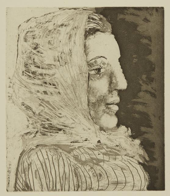 Pablo Picasso, 'Buste de femme au fichu (B. 324; Ba. 672)', Print, Aquatint, scraper and engraving, Sotheby's