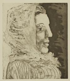 Buste de femme au fichu (B. 324; Ba. 672)