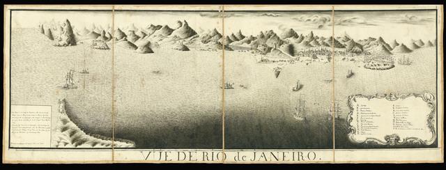 , 'Vüe de Rio de Janeiro [together with] Plan de la Baye de Rio Janeiro et de ses Deffense, 1757.,' [1757], Daniel Crouch Rare Books