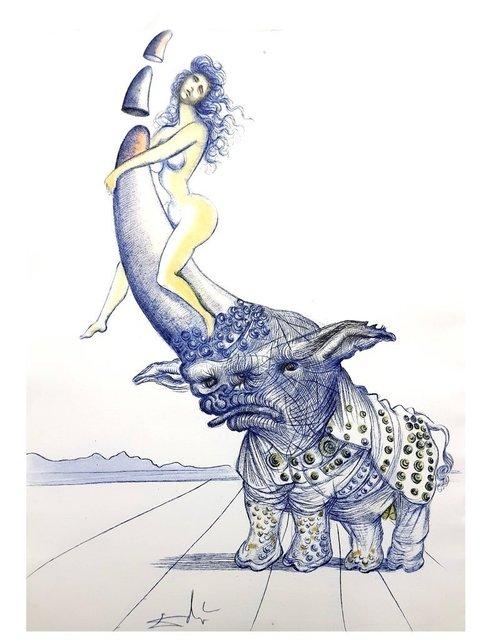 """Salvador Dalí, 'Complete Portfolio of 21 etchings """"Casanova"""" by Salvador Dali', 1967, Galerie Philia"""