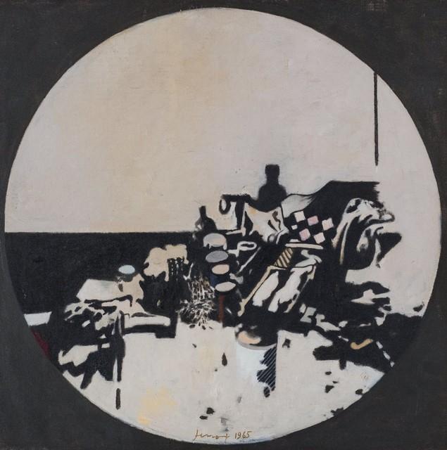 Gianfranco Ferroni, 'Oggetti in un tondo', 1965, Finarte