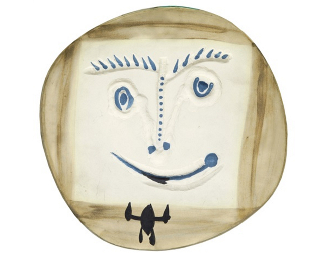 , 'Visage à la cravate,' 1960, BAILLY GALLERY