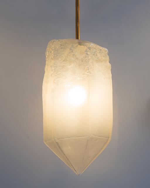 , 'Illuminated hand-blown glass pendant,' 2015, R & Company