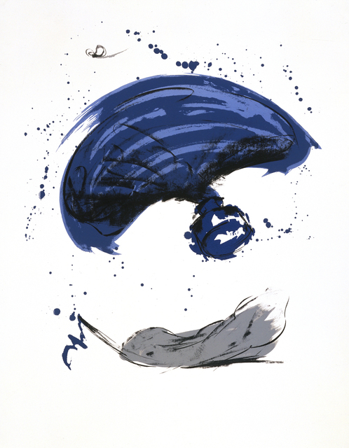 , 'Thrown Ink Bottle with Fly and Dropped Quill,' 1991, Gemini G.E.L.