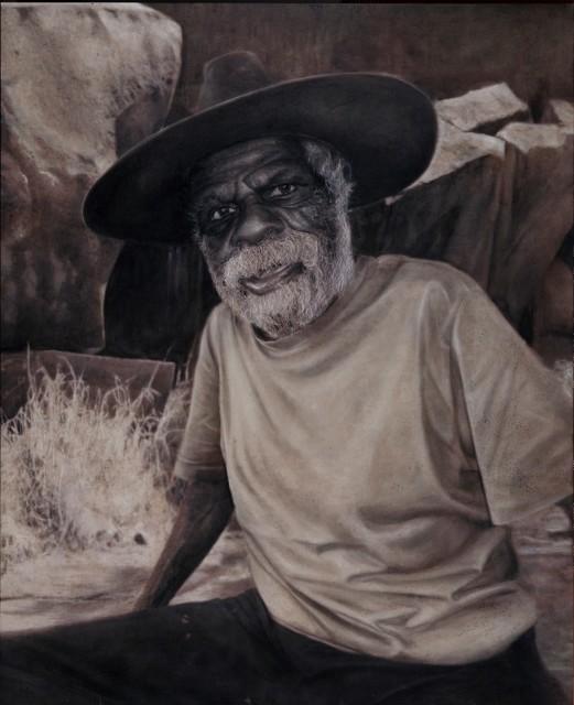 , 'Portrait of Yannima Tommy Watson (panel 2 of triptych),' , Nanda\Hobbs