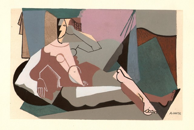 André Lhote, 'Gouache', 1929, Hans den Hollander Prints