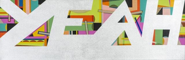, 'YEAH (silver),' 2018, Darren Knight Gallery