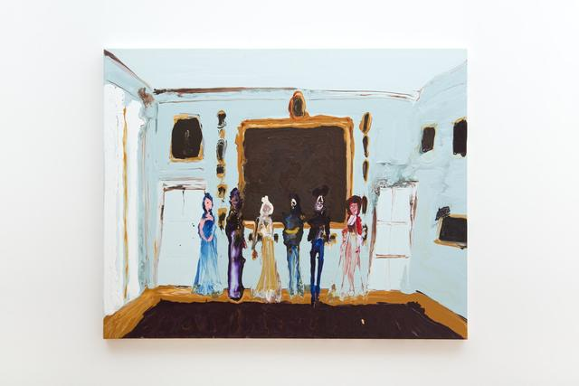 , 'Royal Group,' 2015, Almine Rech Gallery