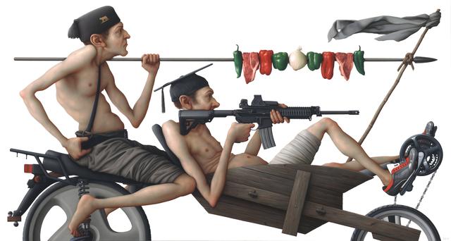 , 'Tag Wache,' 2014, Jonathan LeVine Projects