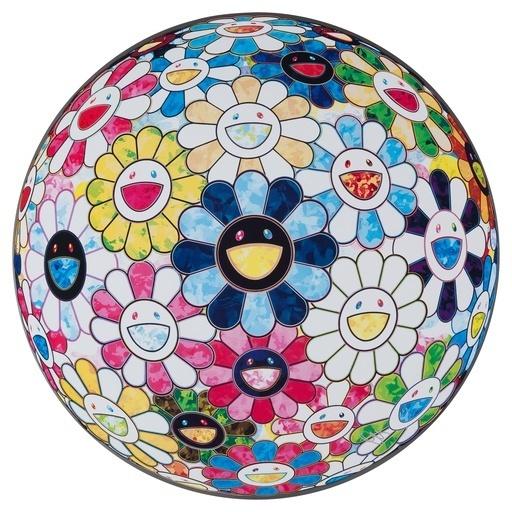 Takashi Murakami, 'The Flowerball's Painterly Challenge', 2016, Dope! Gallery