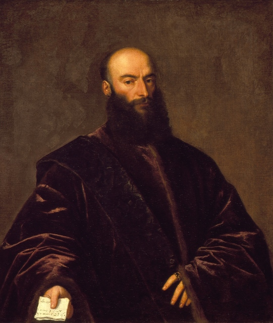 Titian, 'Portrait of Giacomo Dolfin', ca. 1531, Los Angeles County Museum of Art