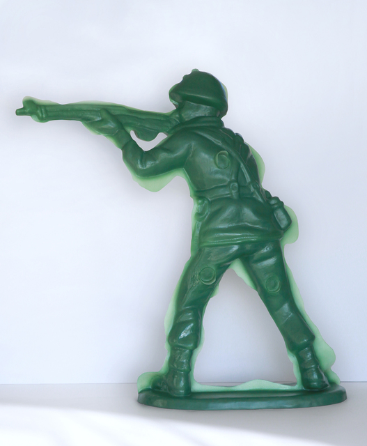 , 'Toy Soldier #4 (Offhand Position),' 2015, Mark Moore Fine Art