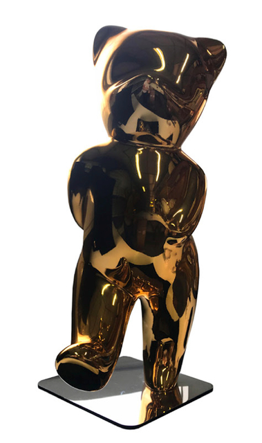 , 'Cévé, Sparkly Gold,' 2018, Oliver Cole Gallery