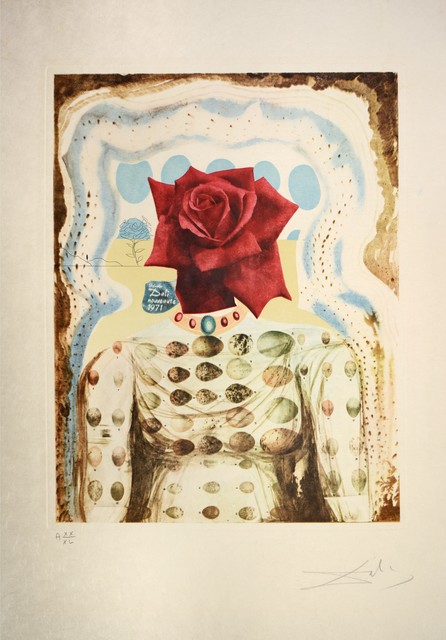 , 'Surrealist Flower Girl, from Memories of Surrealism. ,' 1971, Shapero Modern