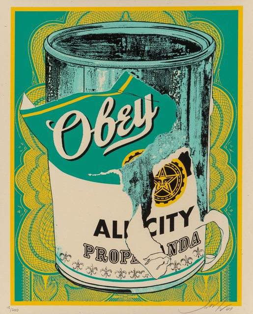 Shepard Fairey, 'Soup Can II', 2009, Heritage Auctions