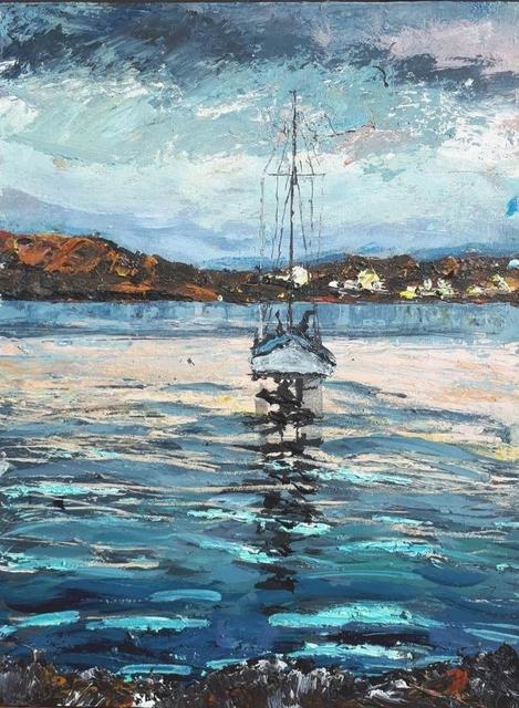 , 'Birthe Marie, St Ronan's Bay (Isle of Iona),' 2018, Lime Tree Gallery