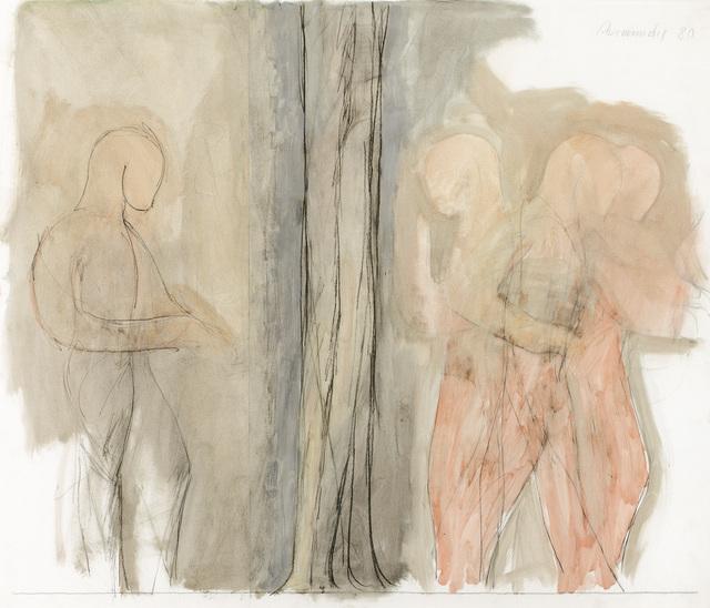 , 'Row of Figures with Tree,' 1980, Galerie Bei Der Albertina Zetter