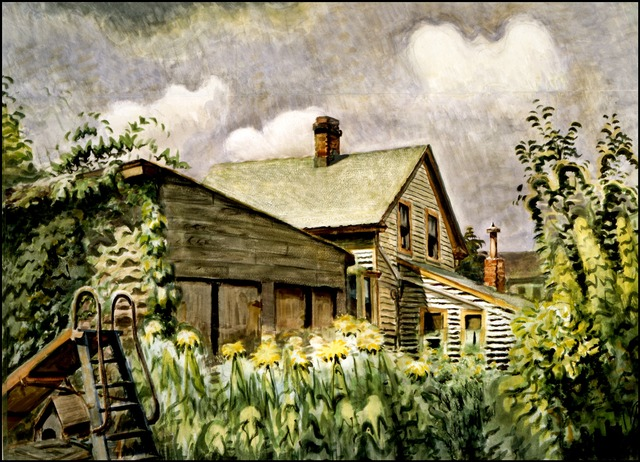 Charles Ephraim Burchfield, 'August Morn', 1933-1949, Debra Force Fine Art