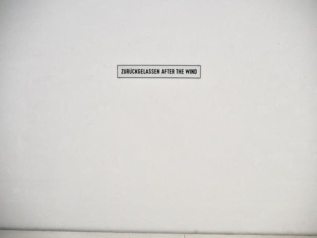 , 'ZURÜCKGELASSEN AFTER THE WIND,' 1994, Brigitte March International Contemporary Art
