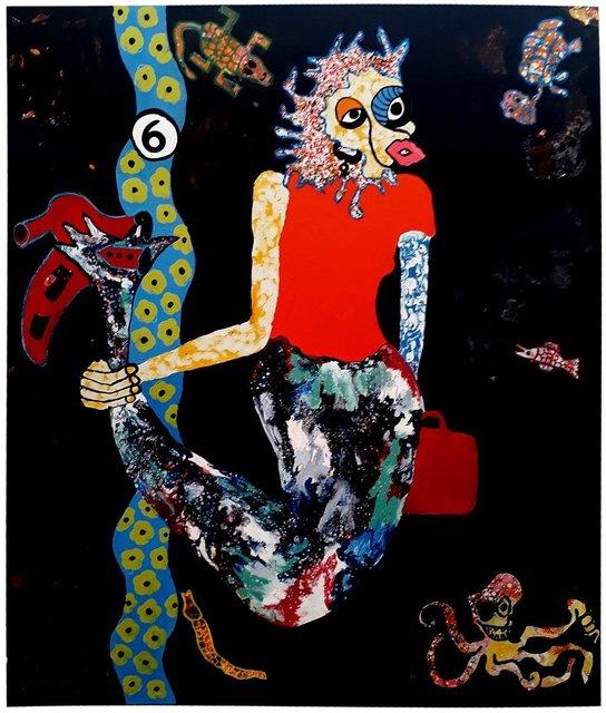 , 'Mami Wata ,' 2018, LouiSimone Guirandou Gallery