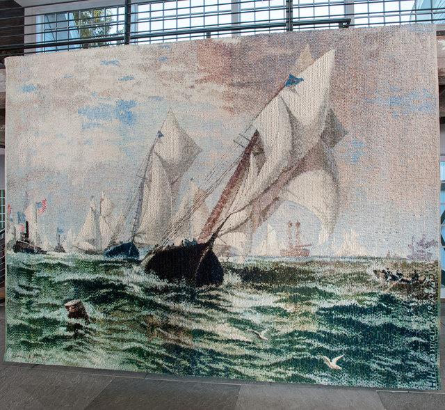 , 'New York Bay 1884,' 1990, browngrotta arts
