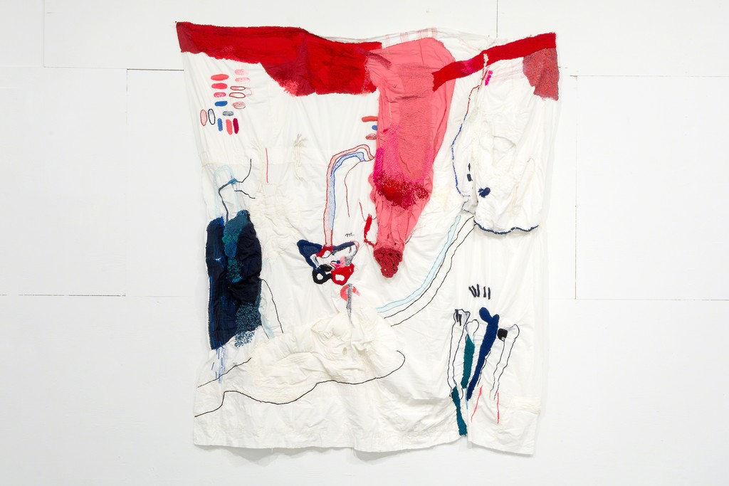 A textile work by Florencia Walfisch.