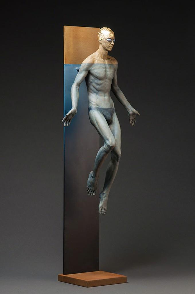Deon Duncan, 'Blue Lotus,' 2014, Cavalier Galleries