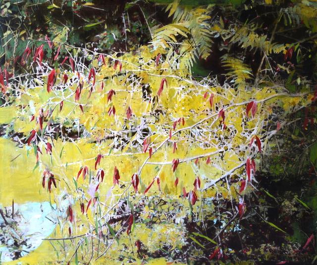 , 'Bushes,' 2015, Massey Lyuben Gallery