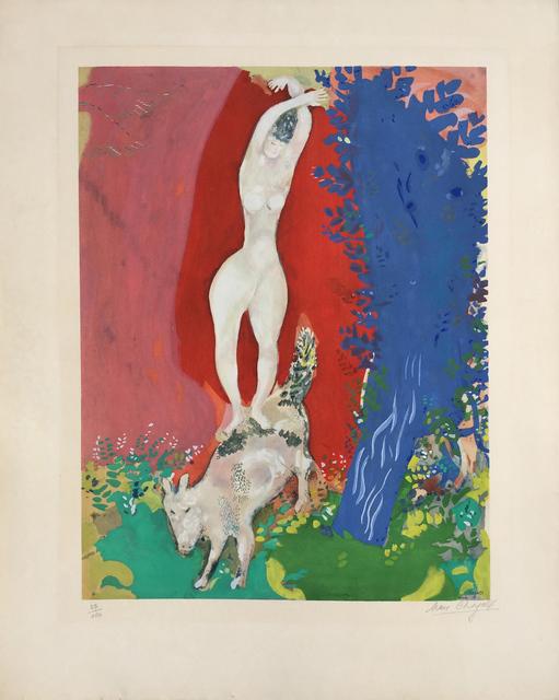 Marc Chagall, 'Femme de Cirque (Circus Woman)', ca. 1960, Denis Bloch Fine Art