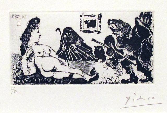 Pablo Picasso, 'La Célestine', 1968, Galerie Michaela Stock