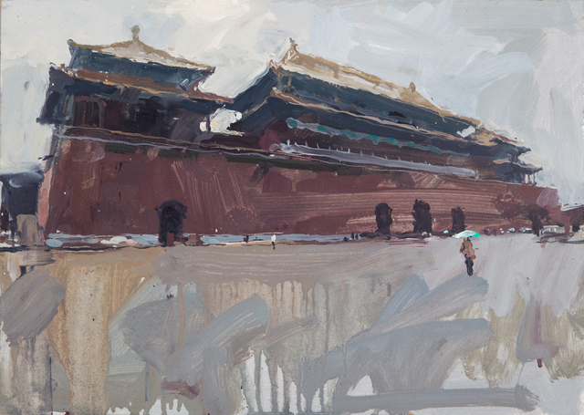 , 'Wumen Gate, north side, Forbidden City Beijing,' 2012, DELAHUNTY