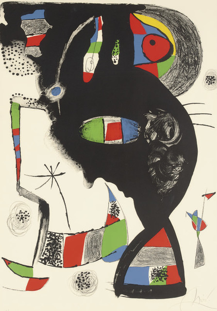 Joan Miró, '42, Rue Blomet', 1977, Zeit Contemporary Art