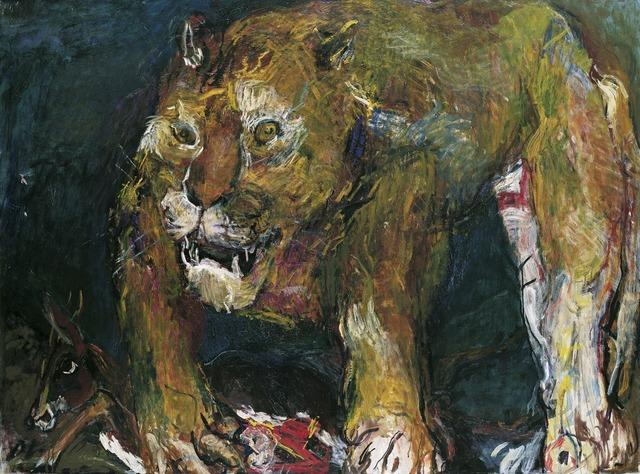 , 'Tigerlöwe,' 1926, Belvedere 21