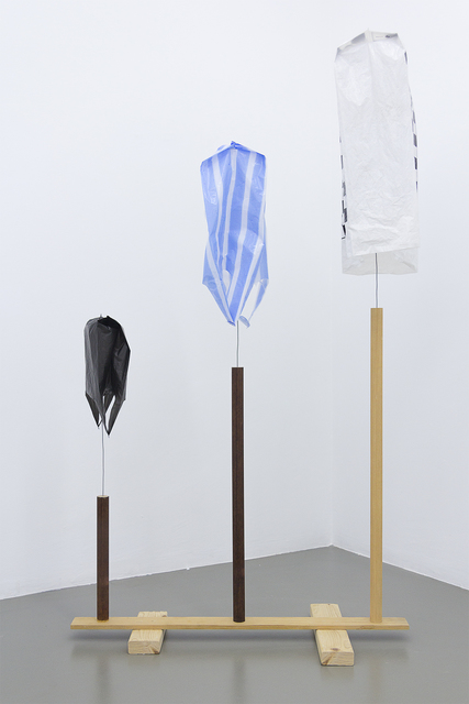 , 'Untitled (three bags),' 2014, Maisterravalbuena