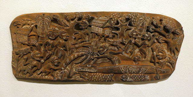 Papua New Guinea Tribal Art, 'Storyboard 12', 1960-1995, Etherton Gallery