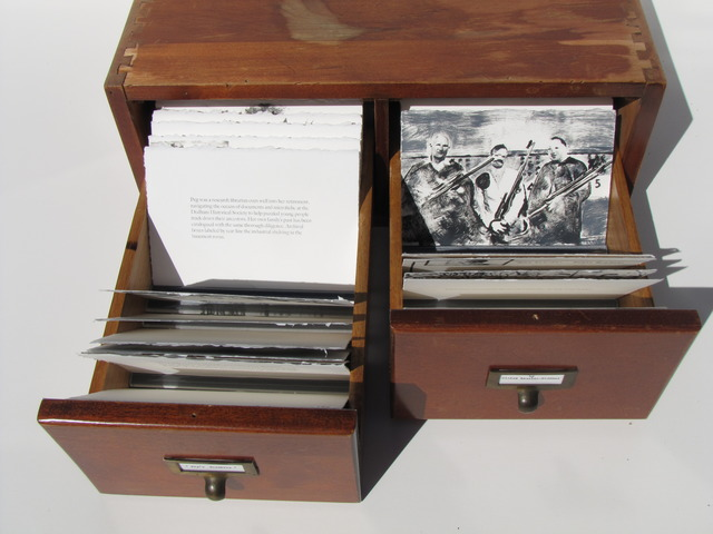, 'Peg's Archives,' 2012, Seager Gray Gallery