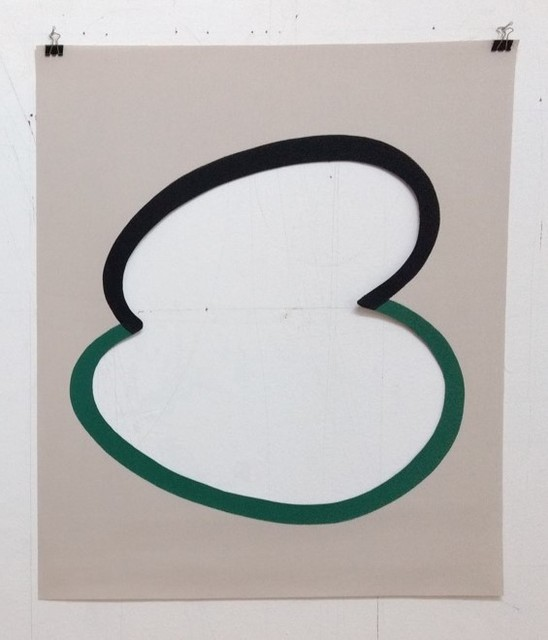 Kirsten Mosel, '#3', 2013-2014, Painting, Lacquer and cuter on canvas, Gachi Prieto