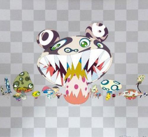 Takashi Murakami, 'Here Comes Media', 2001, Print, Serigraph in colors, ed. 300, Nohra Haime Gallery